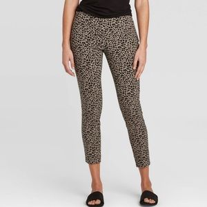 NWT A New Day skinny ankle high rise stretch pants
